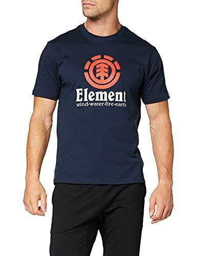 Element Vertical - Camiseta de Manga Corta para Hombre Camiseta de Manga Corta, Hombre, Eclipse Navy, XL