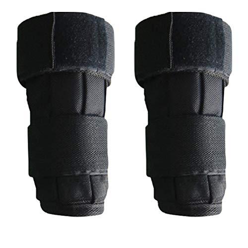KLOP256 Handgelenkgewicht, 1 Paar Fitness-Krafttraining Handgelenkgewichte Tasche, Oxford-Stoff, verstellbare Knöchelgewichte für Erwachsene