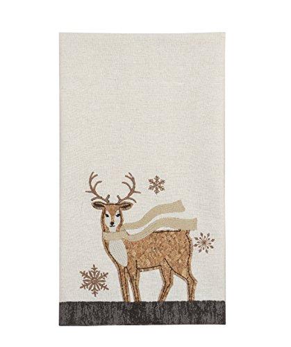 Comfy Hour 27'x17' Wood Reindeer Towel