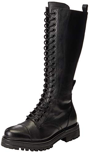 Tamaris Damen 1-1-25607-25 Kniehohe Stiefel, schwarz, 41 EU