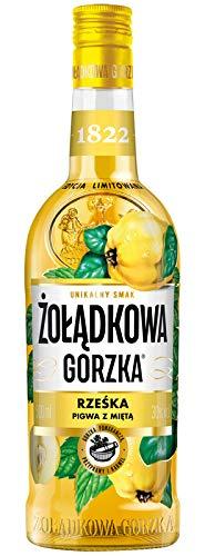 NEUHEIT !!! Zoladkowa Gorzka Quitten Minze 0,5 L/Rzeska Pigwa Mieta