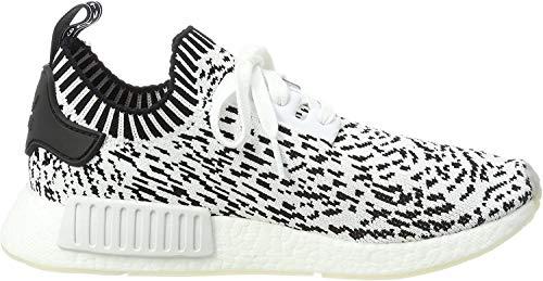 Adidas Herren NMD R1 Primeknit Sneaker, Mehrfarbig (Ftwbla / Ftwbla / Negbas), 38 2/3 EU