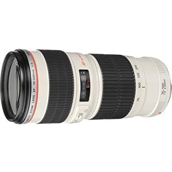 Canon Zoom Telephoto EF 70-200mm f//2.8L is USM 10x High Definition 2 Element