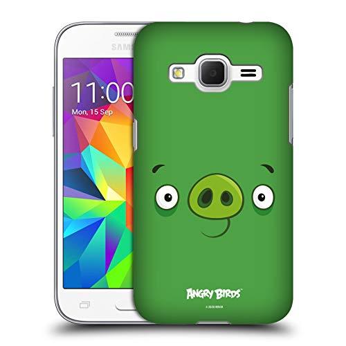 Head Case Designs Licenza Ufficiale Angry Birds Minion Pig Viso Pieno Cover Dura per Parte Posteriore Compatibile con Samsung Galaxy Core Prime