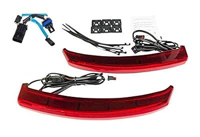 Custom Dynamics LED Saddlebag Lights for Indian Challenger - Red by Custom Dynamics