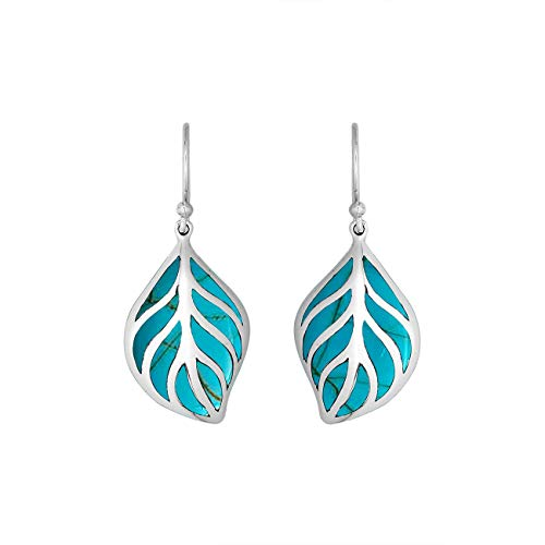Sterling Silver Earring With Turquoise AE-6252-TQ