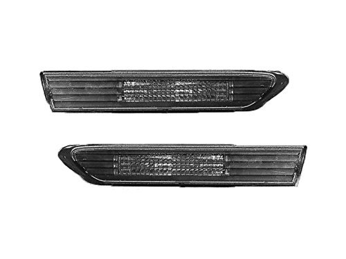 Replacement For TL 2004-2008 Front Smoke LED Side Marker Light Set Pair Left Right