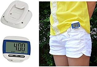 Eenvoudig: stappenteller, stappenteller, calorieënteller, wandelen, joggen, sporten.