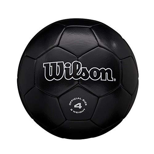 Wilson Traditional Soccer Ball - Black, Size 4