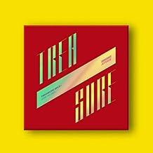 ATEEZ - TREASURE EP.3 [ILLUSION] ONE TO ALL Album CD+Photo Booklet+Folding Poster+Photo Card+PostCard+Sticker