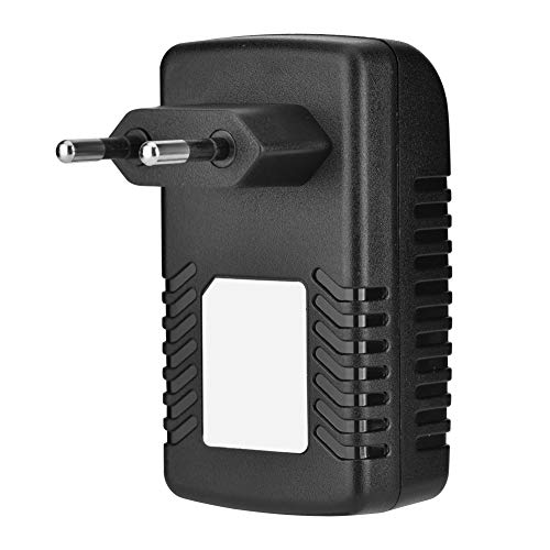 Fuente de alimentación del inyector DC 48V 0.5A,adaptador Ethernet del inyector POE de pared Fuente de alimentación del teléfono IP cámara, compatible con teléfono IP,punto de acceso inalámbrico(yo)