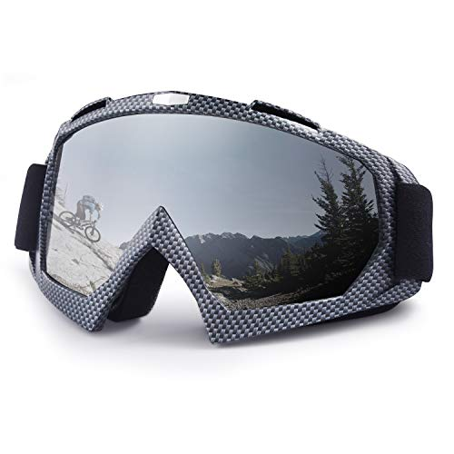 Ski Goggles, Snowboard Goggles, UV Protective Windproof Adjustable