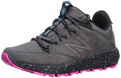 New Balance Women's Fresh Foam Crag Trail V1 Sneaker, Magnet/Peony, 12 W US