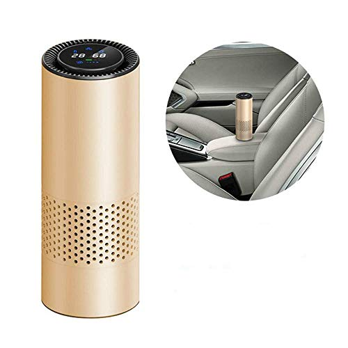 Znesd Air Purifier for Home with Filters, Intelligent Air Purifier Car/Nature Fresh Air Purifier Best for Car Home Office Auto Accessories for Travel Purifie