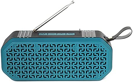 Portable Bluetooth Max 72% OFF Stereo Sales Multi-Functional Card Retro Radio Spea