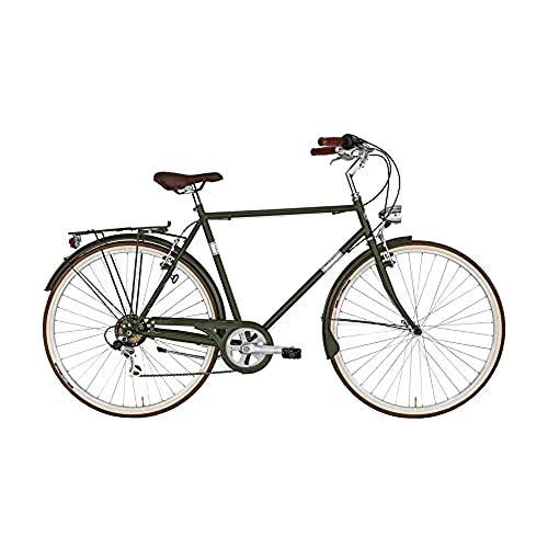 Bicicletta CONDOR Alpina da uomo, 28' e telaio in acciaio 58 cm Verde Militare
