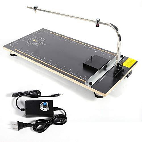 Hot Wire Foam Cutter Working Table Tool Sponge Styrofoam Cutting Machine NEW 30W