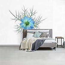 Fotobehang vinyl Nigella - Fotobehang Nigella - Het gebladerte van een nigelle fotobehang vinyl breedte 420 cm x hoogte 35...