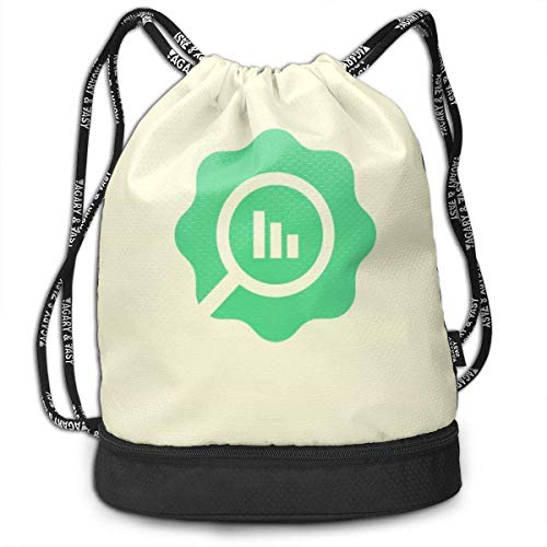 Rucksack mit Kordelzug National Aquarium In Baltimore Feemetri(k) Logo1 Pretty Drawstring Backpack Bag Multipurpose Bundle Sack Pack Dance Bag