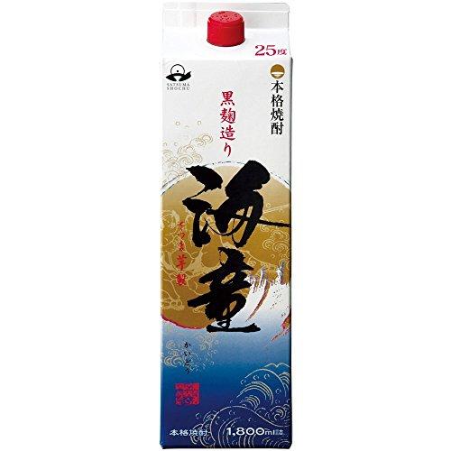 濱田酒造 海童 芋 紙パック [ 焼酎 25度 鹿児島県 1800ml ]