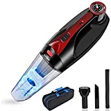 KUTIME Handheld Vacuum Cordless, Upgraded 8000PA Super Suction Powerful Car Vacuum cleaner