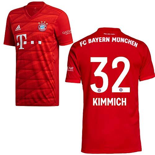 adidas FCB FC Bayern München Trikot Home Heimtrikot 2019 2020 Kinder Kimmich 32 Gr 176