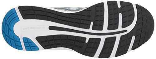 ASICS Men's Gel-Cumulus 20 Running Shoes, 11.5M, Glacier Grey/Black 2