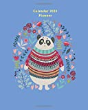 Calendar 2020 Planner: Planner for Organizer Agenda & Diary, Inspirational Quotes, Schedule, Notebook Journal, and Business with Fancy Panda Theme
