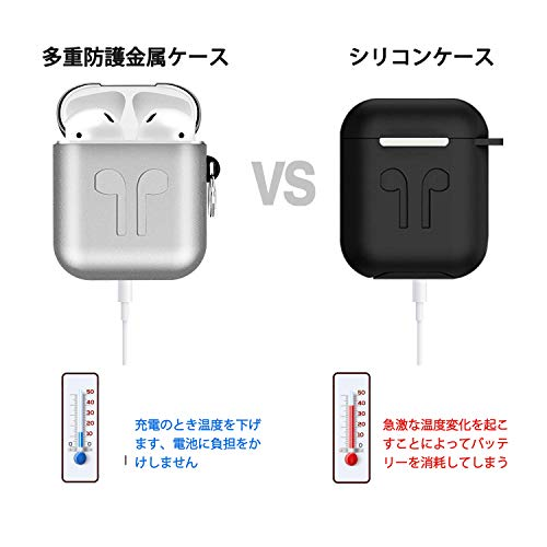 T98『AirPods1/2世代適用カバー』