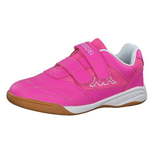 Kappa Mädchen Kickoff Low-Top, Pink (2210 pink/White), 30 EU
