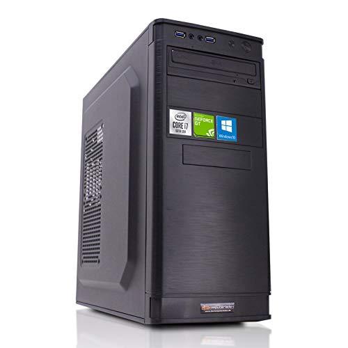 dcl24.de Office PC [12620] Intel i7-10700 8x2.9 GHz - 16GB DDR4, 480GB SSD, GT1030 2GB, WLAN, Windows 10