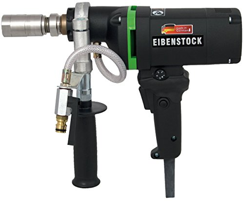 CS Unitec END 1550 P - 2-5/8' Capacity Concrete Core Drill - Wet Diamond Core Drill - For Concrete, Brick, Block, and Stone - MADE IN GERMANY - 110V