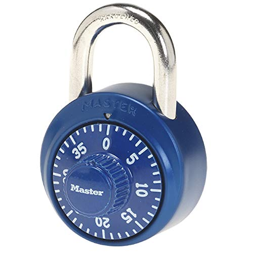 Master Lock 1530DCM Locker Lock Combination Padlock, 1 Pack, Assorted Colors