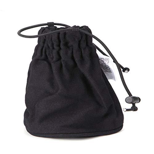 GOMYIE La Couverture De Diffuseur De Sèche-Cheveux Professionnel S'Adapte À La Plupart Des Sèche-Cheveux De Taille (Noir)