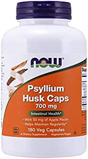 Now Foods Psyllium Husk Caps 700 mg - 180 Veg Capsules