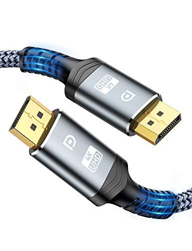 DisplayPort Cable 2m, Snowkids 4K DisplayPort to DisplayPort 1.2 Cable[4K@60Hz,...