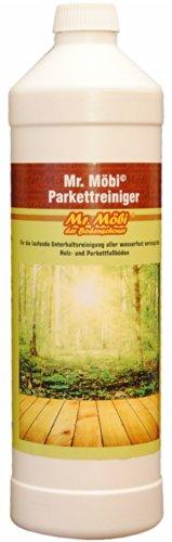 Mr.Möbi© Limpiador para parquet, 1 litro - ¡Limpieza profesional!