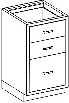 Ranking TOP11 67% OFF of fixed price Blickman Cabinet - Model Base AS18HS