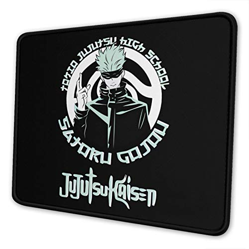 LianHuen Jujutsu Kaisen Mouse pad Office Desk Pad for Laptop Computer PC Game Mouse pad Multiple Sizes 10 x 12 inch