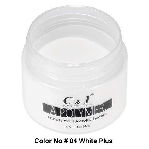 C&I Poudre Acrylique – Une couleur de polymère, 40 g, Couleur # 4