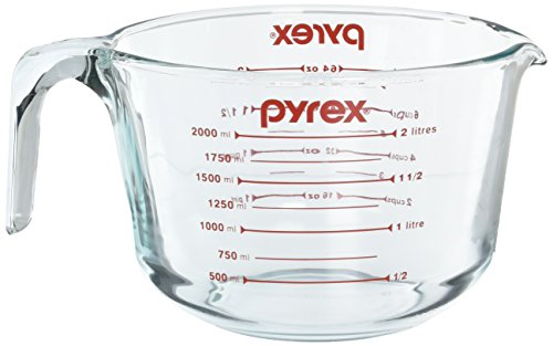 Pyrex Prepware 2-Quart Glass Measuring Cup