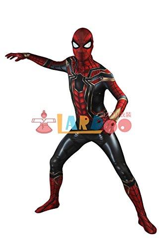 アベンジャーズ/インフィニティ・ウォー ピーター・パーカー スパイダーマン コスプレ衣装
