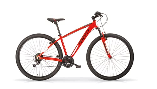 MBM Dart 29' MTB U Acc Revo, MBN - Bicicleta Unisex para Adulto, Color Rojo A20, 38