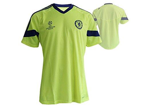 2014-15 Chelsea Adidas EU Training Shirt (Electricity)