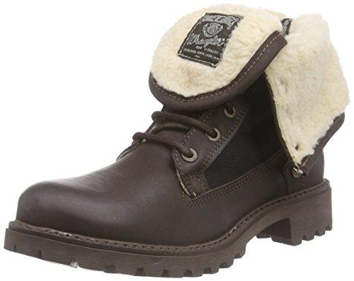 Wrangler Creek LL, Damen Combat Boots, Braun (30 Dk.Brown), 36 EU