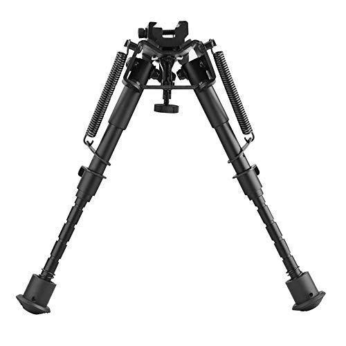 N / A 6-9 Zoll taktisches Gewehr Zweibein Höhe einstellbare, Faltbare Federrückstellung mit 20 mm Montageadapter