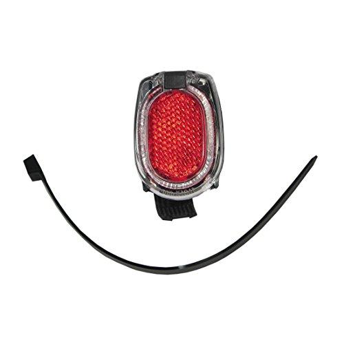 Busch & Müller Unisex– Erwachsene Secula Fahrradbeleuchtung, Red, Einheitsgröße