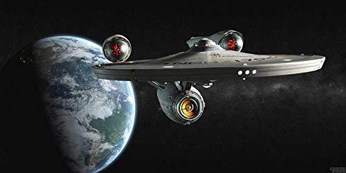 UOBSLBI Rompecabezas para Adultos 1000 Piezas Star Trek Puzzle Desafiante para Niños Y Adultos,Juegos De Rompecabezas para La Damilia,Juguetes Educativos75*50Cm