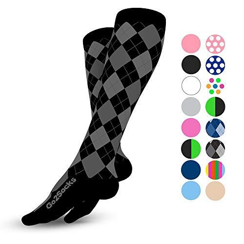 Go2Socks Calcetas de Compresion para Hombres y Mujeres| Varices | Ideal para Deportes y Ejercicio |…