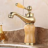 <span class='highlight'><span class='highlight'>Faucet</span></span> <span class='highlight'>Antique</span> an Style Bathroom <span class='highlight'>Basin</span> <span class='highlight'><span class='highlight'>Faucet</span></span> <span class='highlight'>Copper</span> Imitation Jade Single Handle Sink <span class='highlight'>Basin</span> <span class='highlight'><span class='highlight'>Faucet</span></span> Cold and Hot Water Mixer Tap